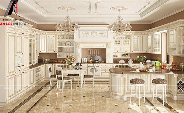 Nội thất nhà bếp Cổ Điển