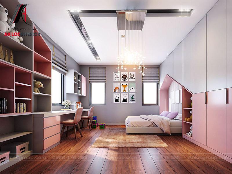 Thiết kế phòng ngủ trẻ em