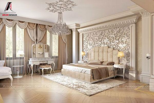 Baroque chủ yếu sử dụng các màu trung tính, nhẹ nhàng