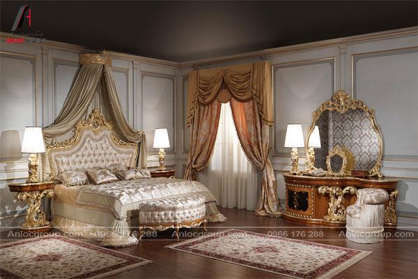 Phòng ngủ phong cách Baroque