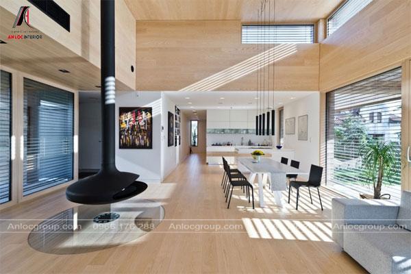 Phong cách nội thất Contemporary