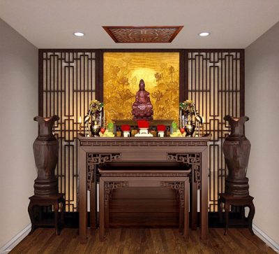 Bàn thờ chung cư đẹp, hiện đại mang đến không gian sống ấn tượng