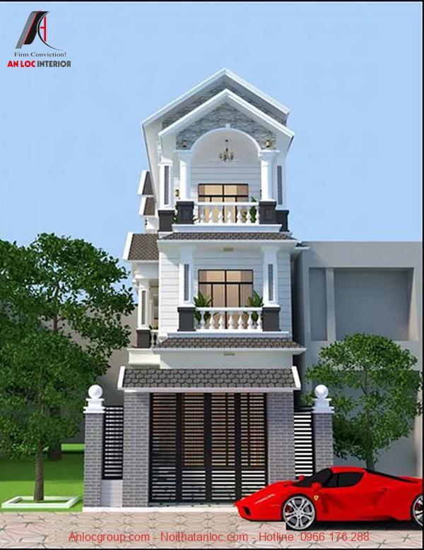 Thiết kế nhà mái thái hiện đại, cổ điển