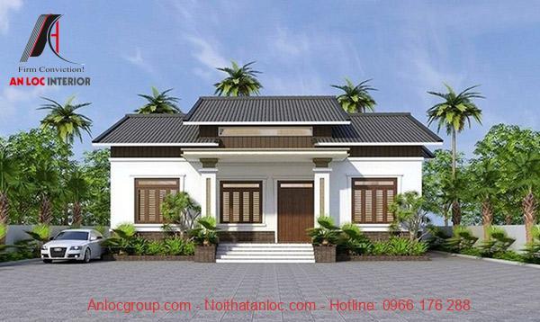 Xu hướng xây dựng nhà cấp 4 mái thái đang được ứng dụng phổ biến vừa tạo vẻ đẹp sang trọng vừa thi công nhanh