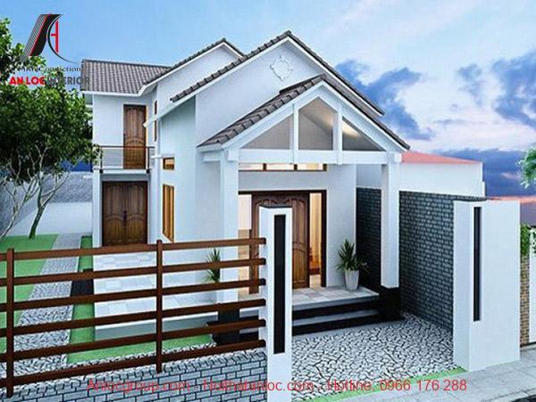 Kết cấu mái thái 3 tầng chồng nhau mang đến vẻ đẹp nguy nga nhưng không kém phần uyển chuyển