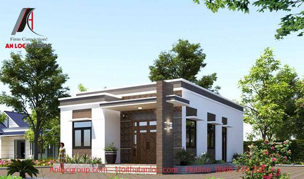 Màu sắc ngoại thất cần được bố trí hợp lý, cân bằng với tổng thể căn nhà
