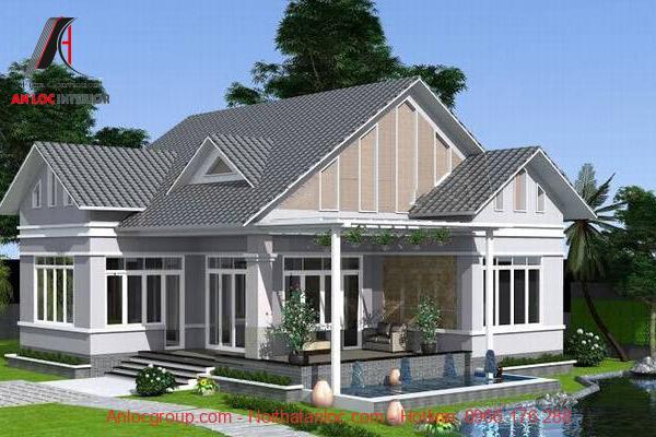Không gian phối hợp kiến trúc độc đáo, cách thiết kế mang đến dấu ấn đặc biệt cho ngôi nhà