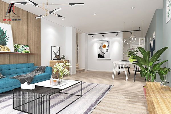 Nội thất Bauhaus tối giản tiện nghi