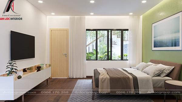 Phòng ngủ mang phong cách nội thất Bauhaus