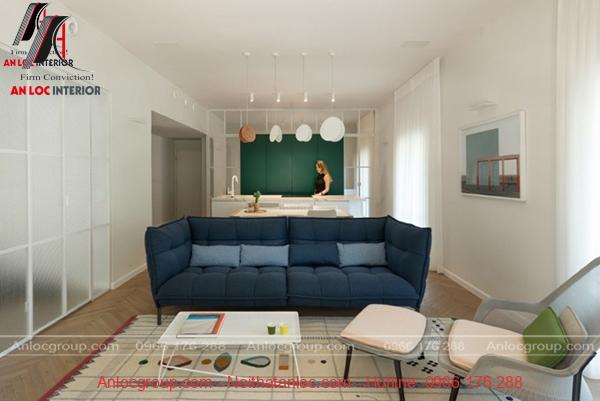 Bố trí nội thất cần đảm bảo yếu tố tiện nghi, hữu ích