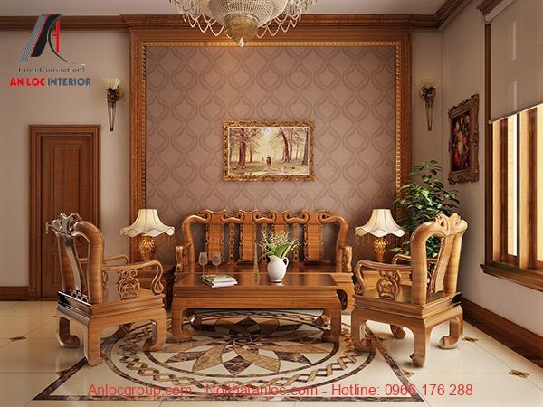 Nội thất làm từ gỗ tự nhiên là net sđặc trưng của phong cách thiết kế đồng quê