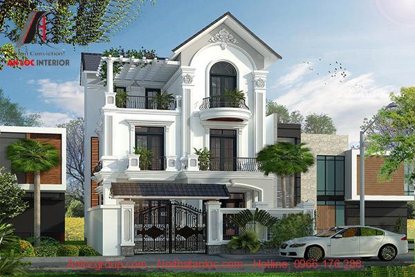 Mẫu biệt thự đẹp 3 tầng được nhiều gia chủ lựa chọn
