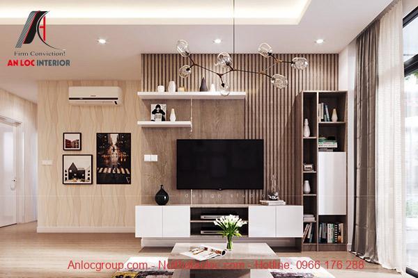 Nội thất chung cư 2 phòng ngủ cần phù hợp với diện tích tổng thể