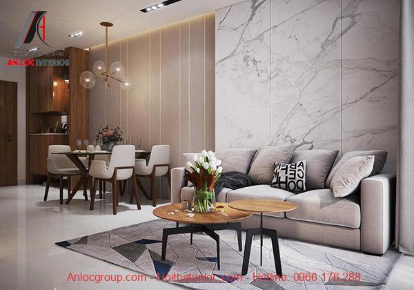 Khi lựa chọn nội thất căn hộ 2 phòng ngủ cần tính toán chi phí để xây dựng không gian hợp lý