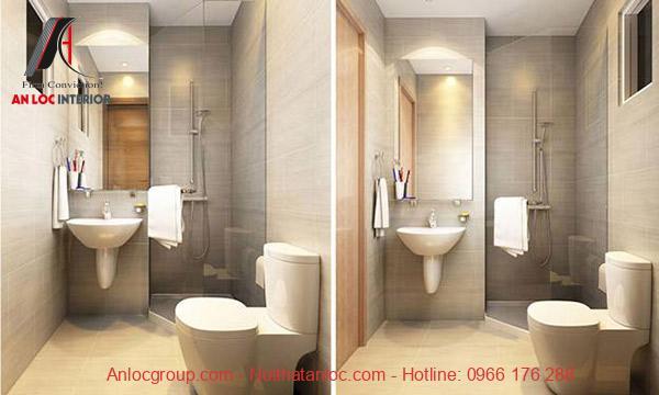 Không gian nhà vệ sinh cần đảm bảo thông thoáng, sạch sẽ để có môi trường sống hiện đại