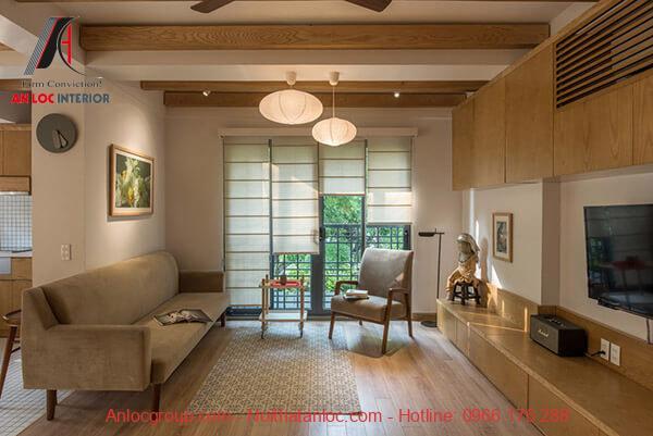 Việc phân chia, bố trí từng không gian căn hộ chung cư 2 phòng ngủ cần đảm bảo sự hài hòa, hợp lý