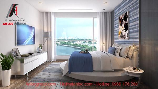Phòng ngủ lịch sự, gần gũi với thiên nhiên