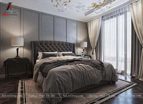 Phòng ngủ theo phong cách thiết kế tân cỏ điển