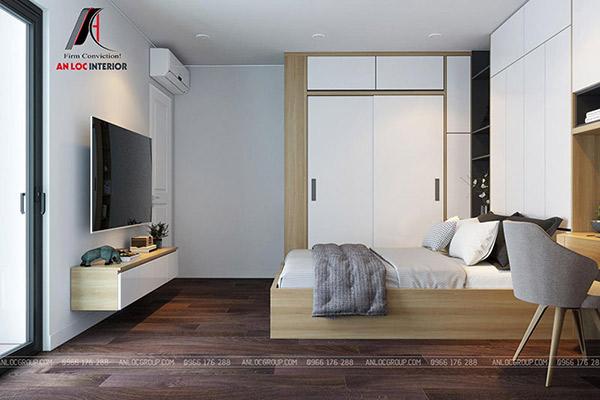 Thiết kế trang nhã, ấn tượng tạo nên không gian nghỉ ngơi tuyệt vời dành cho gia chủ