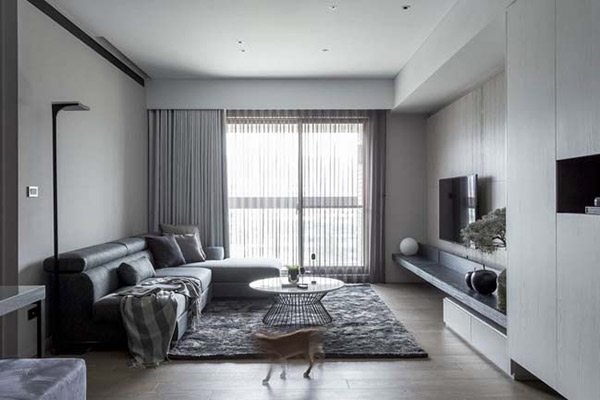 Ánh sáng nổi bật kết hợp với các đồ nội thất trang trí tinh tế đáp ứng đúng tiêu chí thiết kế chung cư 100m2 đã đề ra
