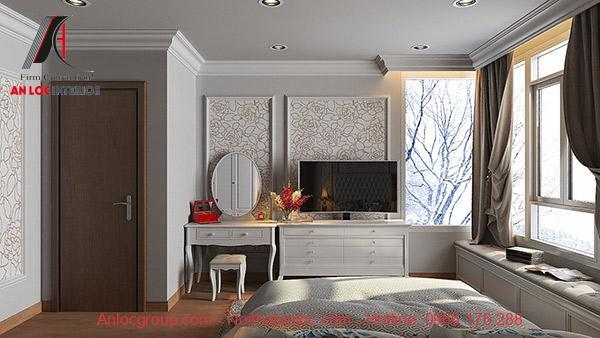 Đồ nội thất đơn giản nhưng phục vụ tối đa nhu cầu sử dụng của gia chủ