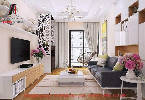 Thiết kế nội thất chung cư 100m2 thường đơn giản nhưng đảm bảo đầy đủ công năng