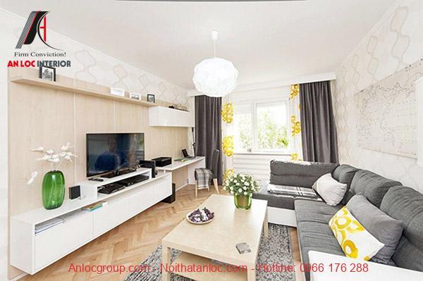 Đồ nội thất không chỉ đảm bảo tính tiện nghimà còn hài hòa, phù hợp với không gian