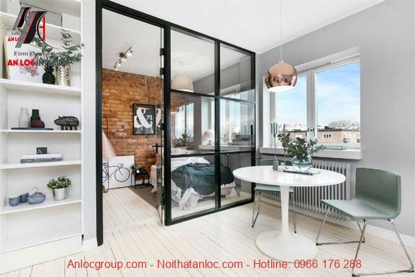 Không gian được mở rộng với thiết kế cửa sổ kéo dài