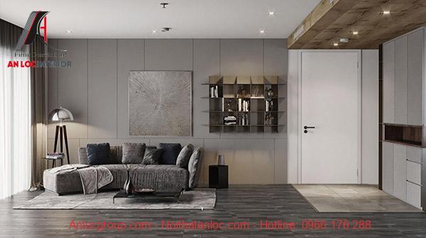 Thiết kế nội thất phòng đơn giản những vấn nổi bật vẻ đẹp hiện đại, sang trọng