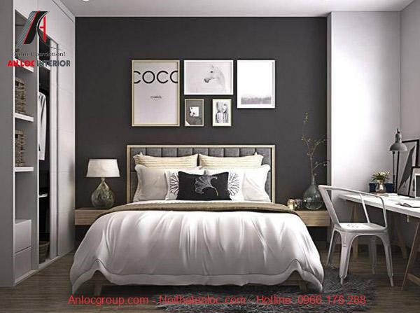 Gam màu trung tính và nội thất đơn sắc mang dến tổng thể cuốn hút, hài hòa