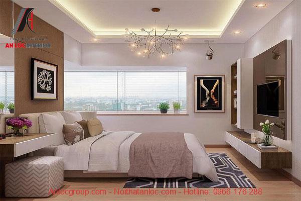 Nội thất phòng ngủ căn hộ mini