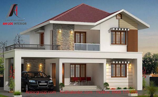 Thiết kế móng nhà 2 tầng