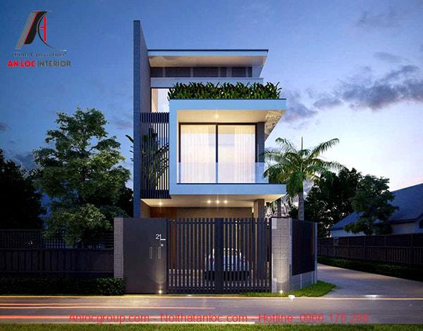 Kiến trúc nhà 2 tầng đẹp là đảm bảo yếu tố tích hợp đầy đủ công năng