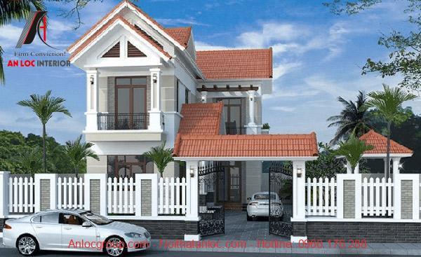 Thiết kế kiến trúc nhà đẹp cần biết phối hợp chất liệu và màu sắc hài hòa