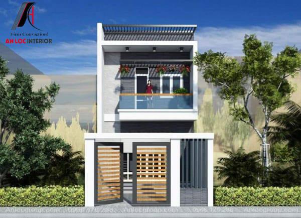 Sự đơn giản kết hợp hài hòa với tổng thể kiến trúc