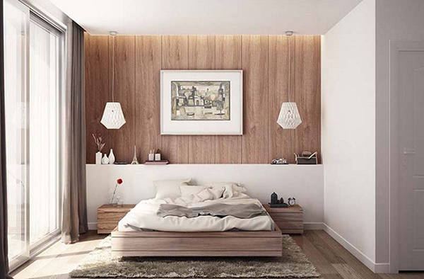 Nội thất phòng ngủ đơn giản, sang trọng