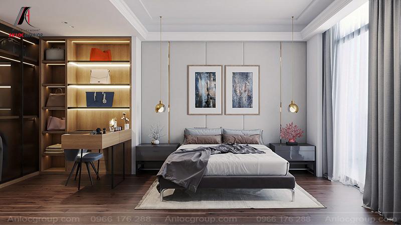 Những chiếc đèn trang trí mang đến yếu tố hẩm mỹ cho căn phòng