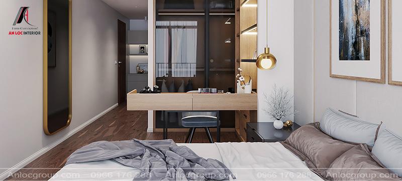 Phòng ngủ con đơn giản nhưng đảm bảo môi trường thư giãn ấn tượng