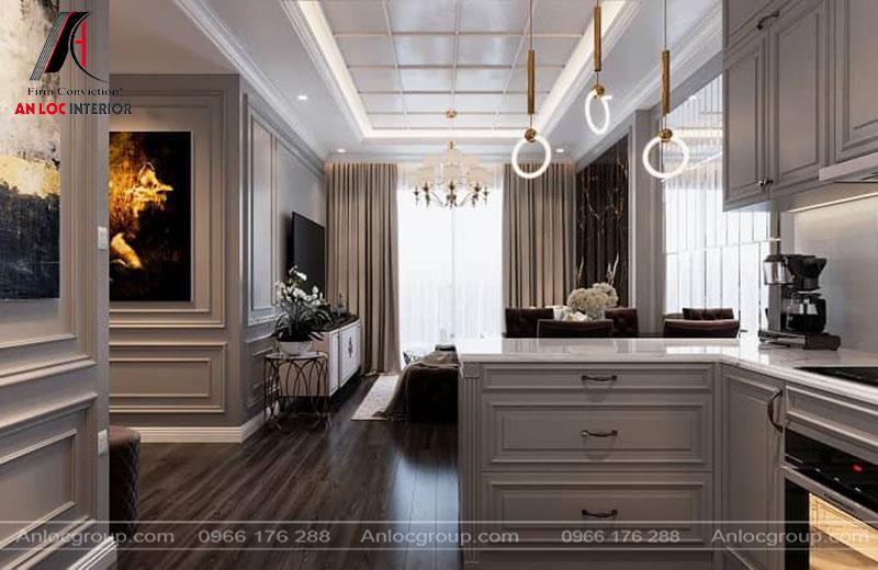 Hệ thống đèn trang trí tôn lên vẻ đẹp tinh tế của đồ nội thất