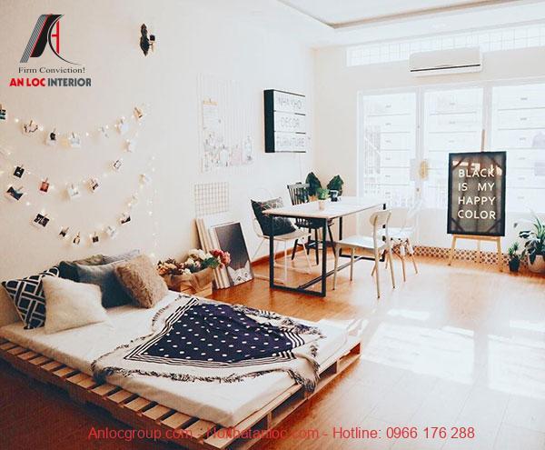 nội thất phòng ngủ phong cách vintage