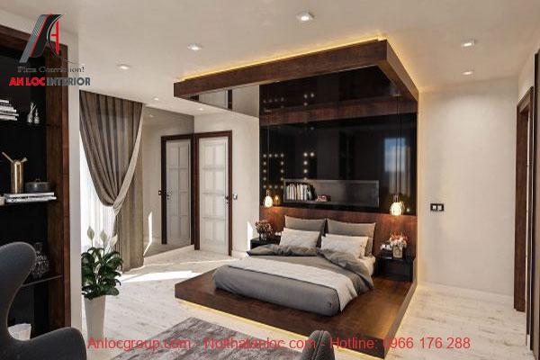 Thiết kế phòng ngủ chung cư đẹp