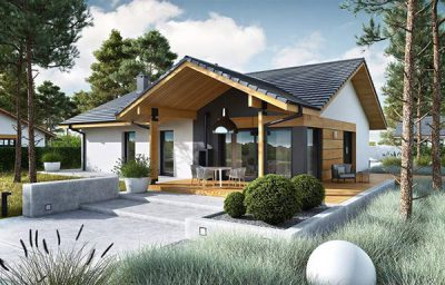 Xây dựng nhà cấp 4 đẹp cần đảm bảo hài hòa về kiến trúc và màu sắc