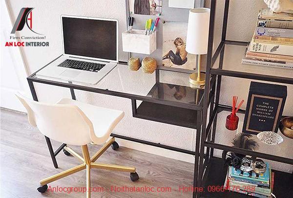 Mẫu bàn làm việc cho phòng ngủ nhỏ