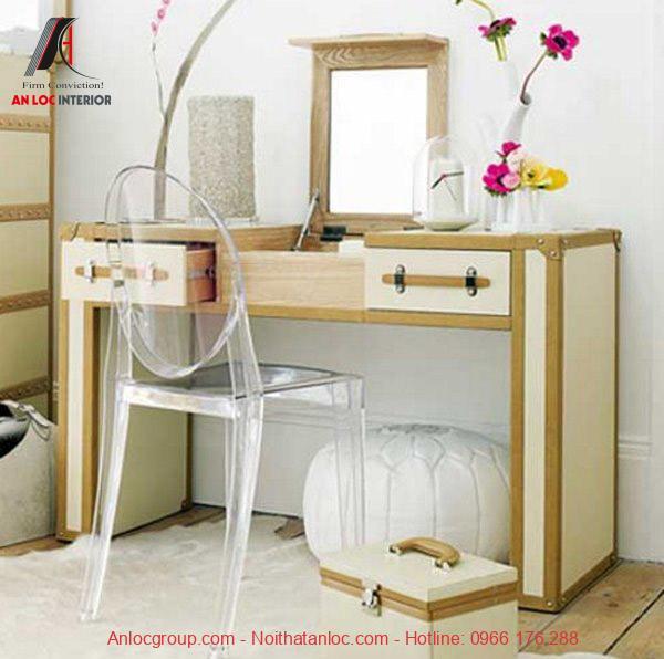 Cách lựa chọn vật liệu cần đảm bảo đồng nhất với tổng thể nội thất căn phòng