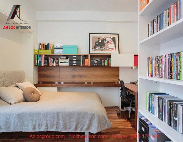 Góc làm việc đẹp trong phòng ngủ ấn tượng, thu hút ánh nhìn