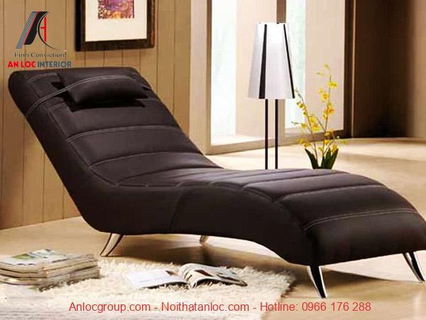 Mẫu 18: Ghế sofa thư giãn trong phòng ngủ được nưu tiên sử dụng thời gian gần đây