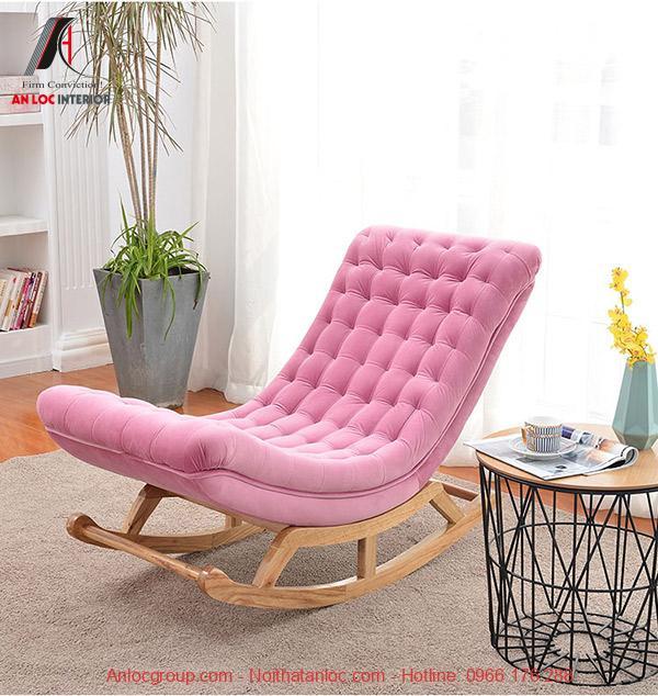 Mẫu 22: Màu sắc ghế sofa thư giãn trong phòng ngủ mang đến cảm giác thoải mái, dễ chịu