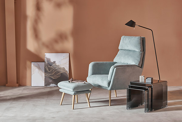 Mẫu 1: Ghế Sofa mini được sử dụng với những căn phòng có diện tích hạn chế
