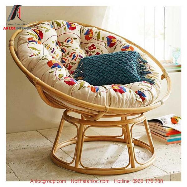 Mẫu 10: Vậtliệu tạo nên chiếc ghế sofa trong phòng ngủ đơn giản, có giá thánh rẻ