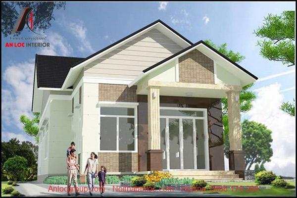 Kết cấu căn nhà được sử dụng những đường nét ấn tượng, cuốn hut